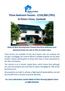 Llanbedr LC Housing